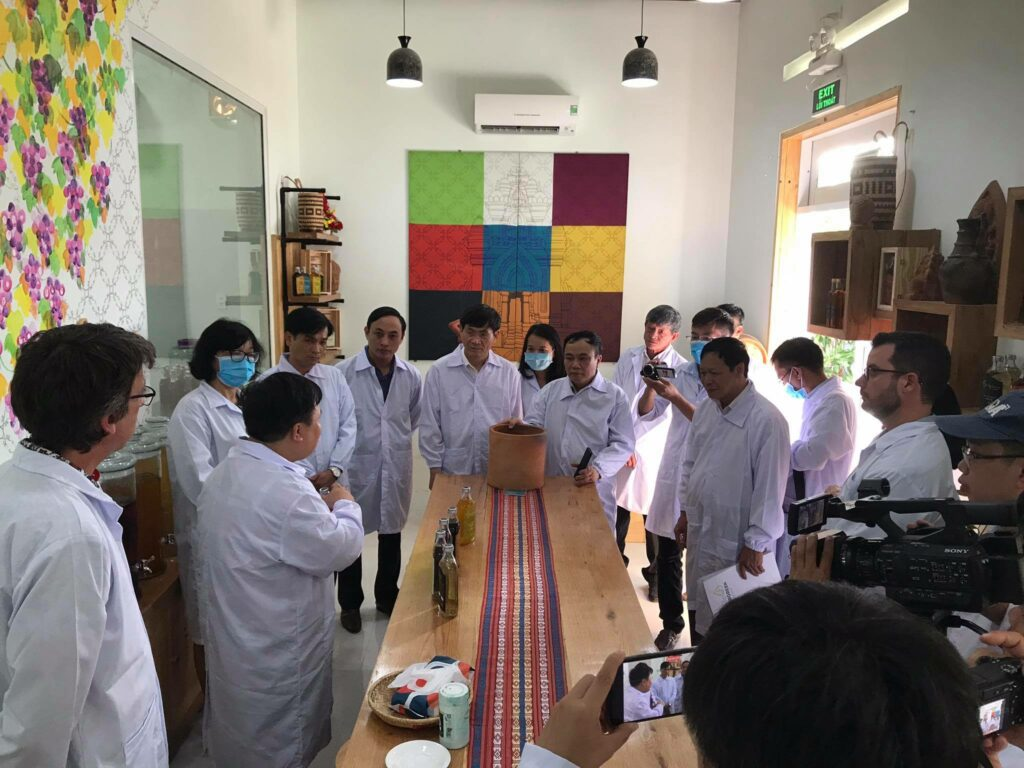 De la grande visite au Vietnam