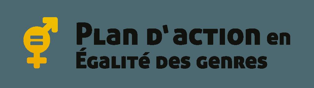 Plan d'action en égalité des genres