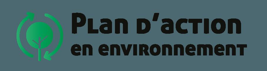 Plan d'action en environnement