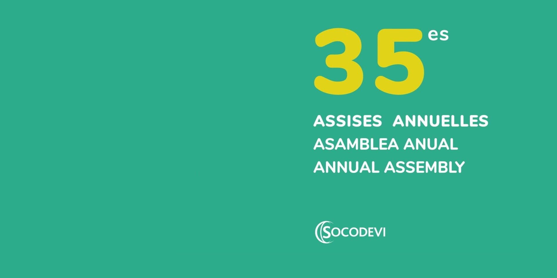 Annual Assembly 2020: an unprecedented gathering!