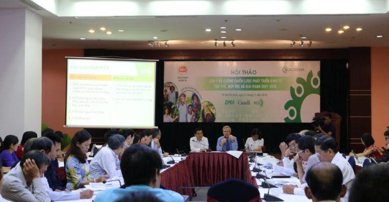 Appui stratégique au gouvernement vietnamien pour le développement de coopératives